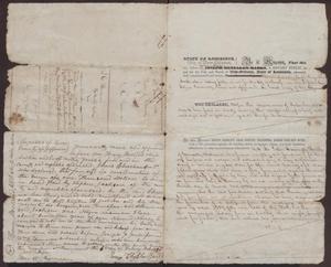 [Bills of Sale of a Slave Named Nancy, June 18, 1838]