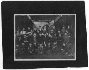 [Photograph of Factory Workers]