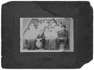 [Photograph of Faculty of the First School in Port Arthur, Texas]