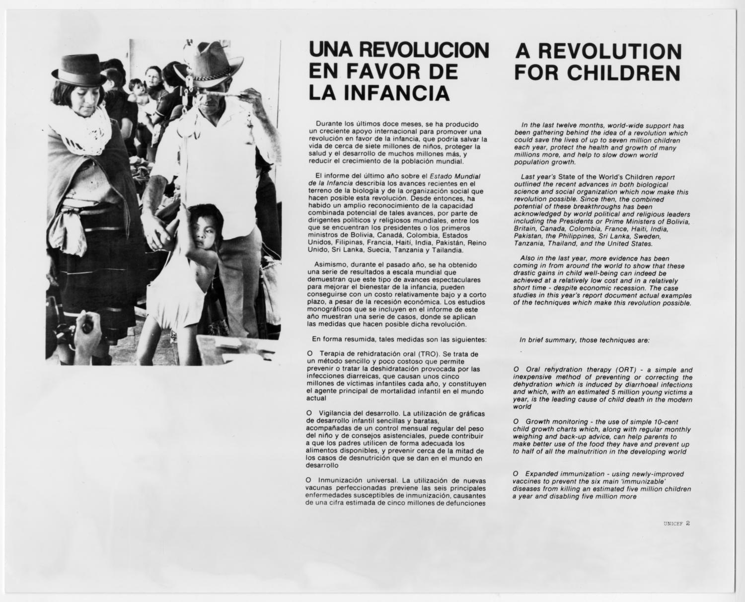 Una revolucion en favor de la infancia                                                                                                      [Sequence #]: 1 of 2