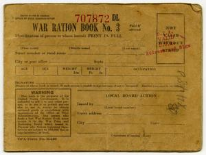 [Felicitas Latlip's War Ration Book Three]