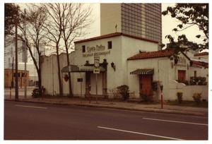 Primary view of object titled '[Santa Anita Restaurant, from street]'.