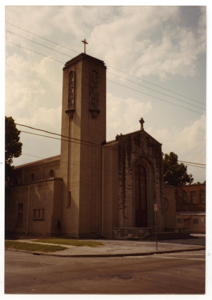 Primary view of object titled '[Immaculate Heart of Mary Church]'.
