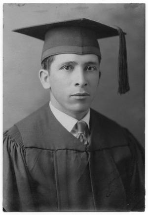 Primary view of object titled '[Graduation photograph of Primitivo L. Niño]'.