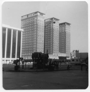 Primary view of object titled '[Photograph of Rice Hotel]'.