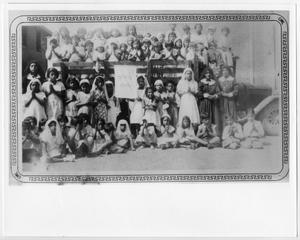 Primary view of object titled '[Children after First Communion instruction]'.