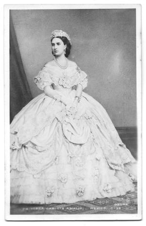 [Postcard of Carlota of Mexico]