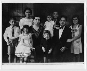 Primary view of object titled '[Photograph of Jesus Murillo and family]'.