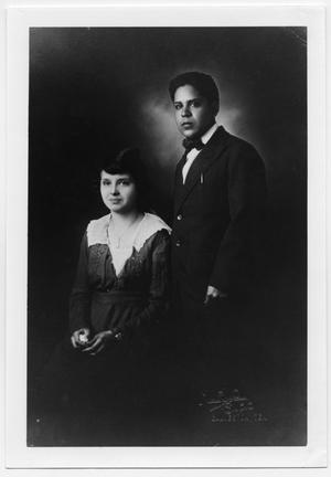 [Photograph of Jesus Murillo and his wife]
