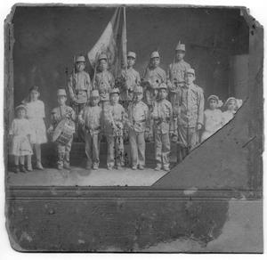 Primary view of object titled '[Our Lady of Guadalupe Catholic Church children's play]'.