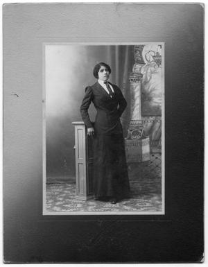 Primary view of object titled '[Photograph of Velina Yllescas Forrein]'.