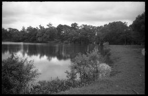 Primary view of object titled '[Edge of Miller's Lake]'.