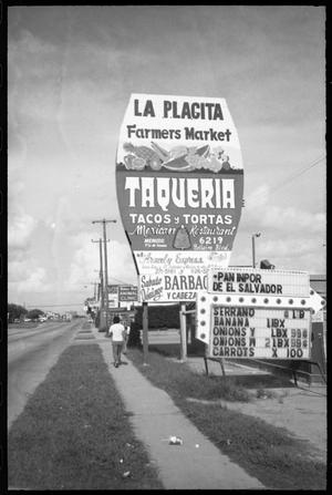 Primary view of object titled '[La Placita Farmers Market]'.