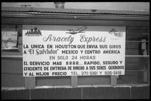 [Aracely Express sign]