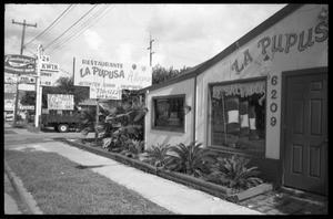 Primary view of object titled '[La Pupusa Alegre restaurant]'.