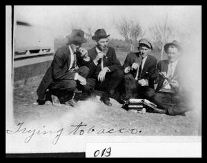 Primary view of object titled 'Trying Tobacco'.