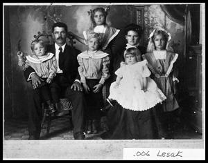 Primary view of object titled 'Carl Harton Family'.