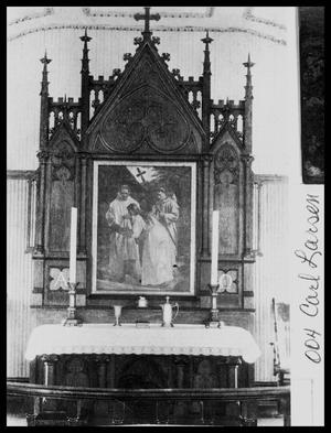 Primary view of object titled 'Danevang Church Altar'.