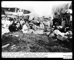 Primary view of object titled 'Picnic at East Bay'.