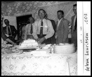 Primary view of object titled 'A. P. Lauritsen 90th Birthday'.