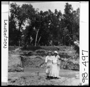 Primary view of object titled 'Lady Grape Pickers'.