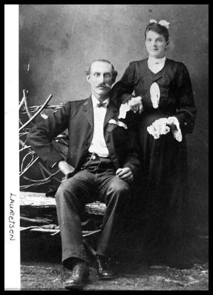 Primary view of object titled 'Helvig Berndt and Wife'.