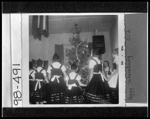 Primary view of object titled '4-H Girls in Danish Costumes'.