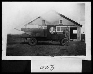 Primary view of object titled 'Hans Nelsen Model T Truck'.
