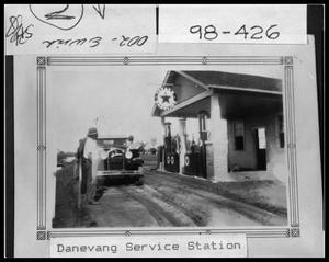 Primary view of object titled 'Danevang Service Station'.