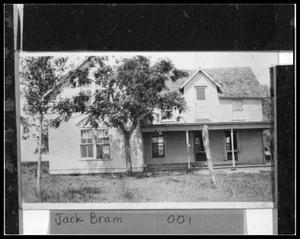 Primary view of object titled 'Marius Bram Original Home'.