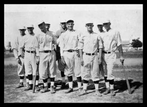 Primary view of object titled 'Baseball Team'.