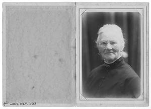 Primary view of object titled '[Portrait of Marie, Nee Olson, Hansen]'.