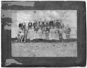 Primary view of object titled '[1903 Danevang School Students]'.