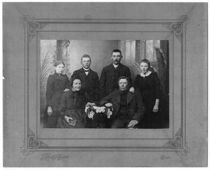 Primary view of object titled '[Portrait of the Madsen Family]'.