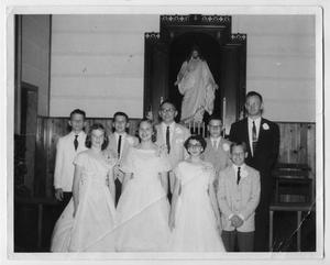 Primary view of object titled '[1958 Confirmation Class]'.