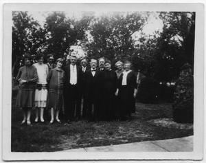 Primary view of object titled '[Portrait of a Group of Men and Women]'.