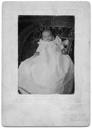 Primary view of object titled 'Wilhelm Harton - 3 Months Old'.