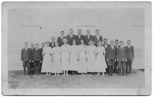 Primary view of object titled '1914 School Photo'.