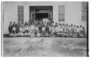 Primary view of object titled '[Danevang School Class of 1923-24]'.