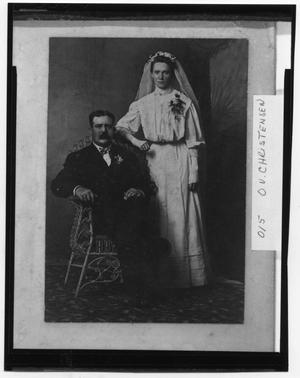 Primary view of object titled 'C. J. Christensen Wedding'.