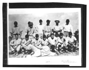 Primary view of object titled 'Danevang Baseball Team 1950'.