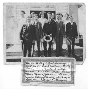 1925 Confirmation