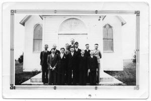 Primary view of object titled '[1936 Confirmation Class of Danevang Lutheran Church]'.