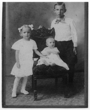 Primary view of object titled '[Berndt Family Siblings - Andreas, Marie, and Ingeborg]'.