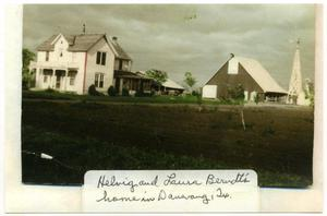 Primary view of object titled 'Helvig and Laura Berndt's Home in Danevang'.