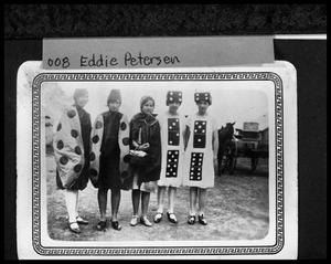 Primary view of object titled '[Group of Girls Dressed in Costumes]'.