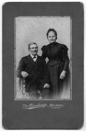 Primary view of object titled '[Portrait of a Married Danish Couple]'.