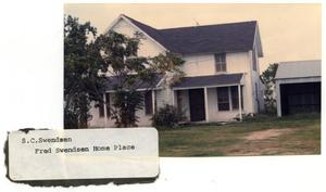 Primary view of object titled 'S. C. Swendsen Home'.