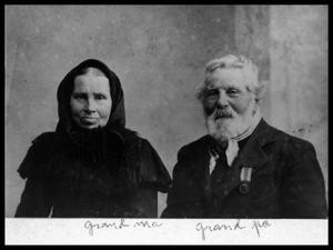 Primary view of object titled 'Mr. and Mrs. Berthelsen'.