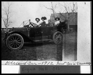Primary view of object titled 'Overland Car (First car in Danevang)'.